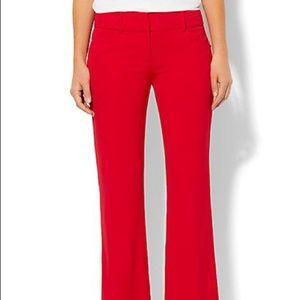 NWOT Red Design Studio Slim leg Pants, size 4